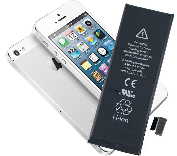 Замена аккумулятора айфон 5 киев