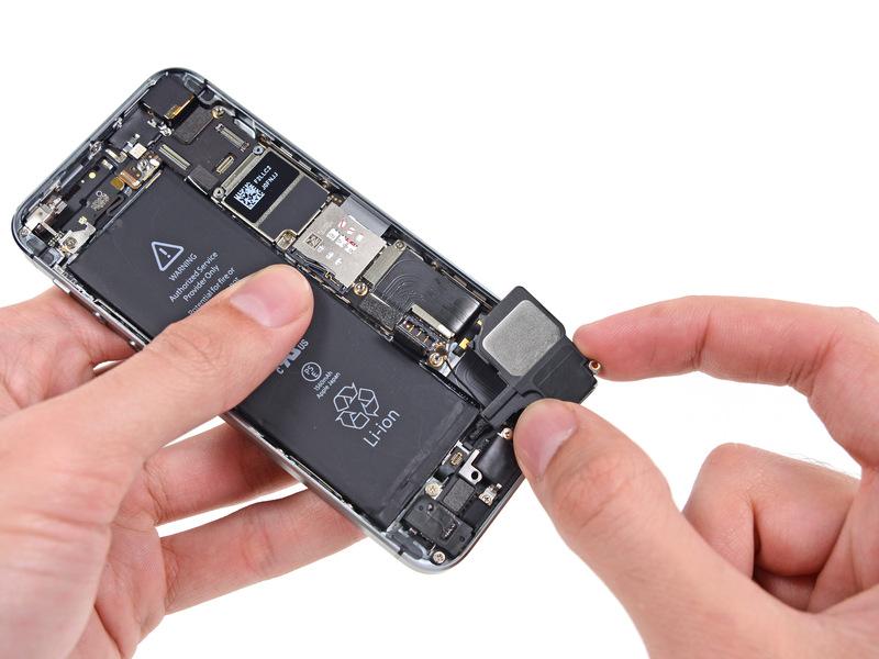 Фото: Ремонт динамика iPhone 6