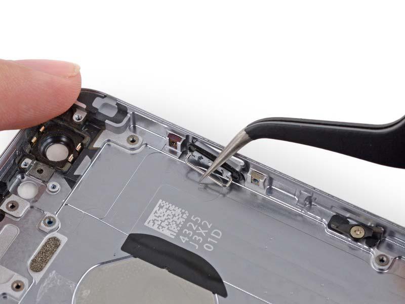 Фото: Ремонт кнопки включения (выключения) iPhone 6