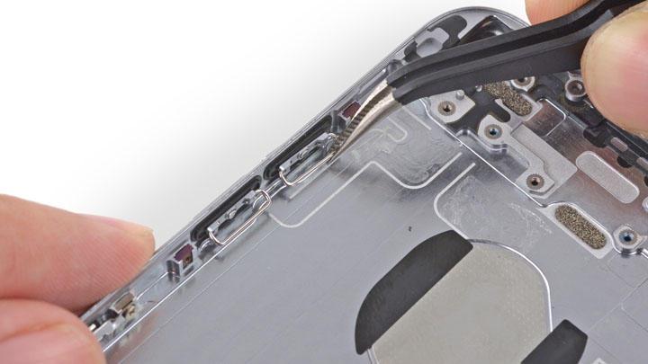 Фото: Ремонт кнопок громкости iPhone 6