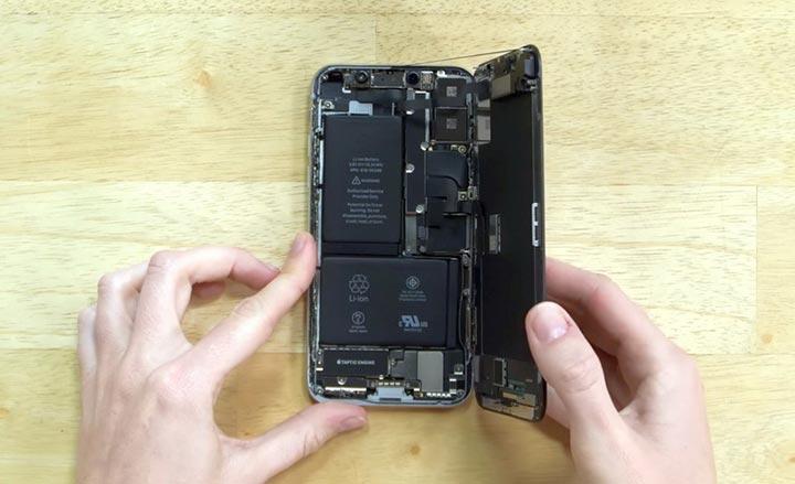 Фото: Замена динамика iPhone X