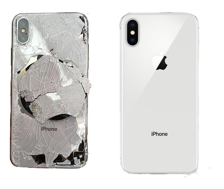 Фото: Замена задней крышки iPhone 10
